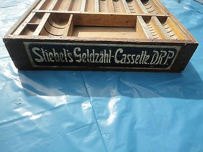 Stiebels Geldzähl-Cassette D.R.P