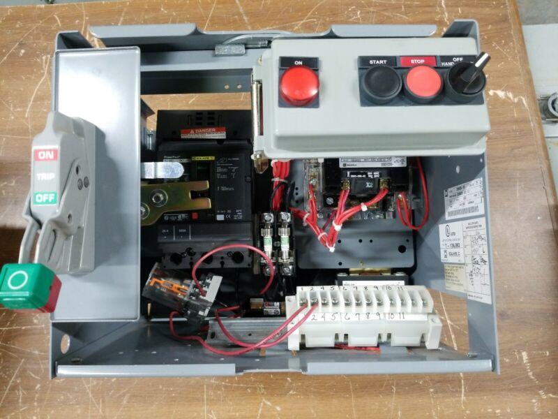 Square D Nema Size 1 Model 6 Motor Control Center Bucket HJL36020 MCC NO COVER