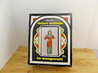 VTG MCM Collegeville Deluxe Costume ELF 8521 Medium Adult Original Box