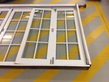 Colonial style Cedar bi-fold doors with flyscreen Willoughby Willoughby Area Preview