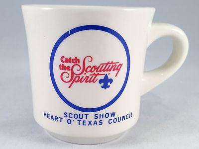 Boy Scouts Mug Scout Show Heart O' Texas Council - Catch the Scouting Spirit