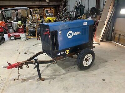 2014 Miller Big Blue 400 Pro Portable Welder Kubota V1505 Diesel 4150 Hours