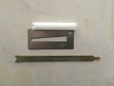 Kwikset Tools Plug Follower Key Gauge And Stem Remover New