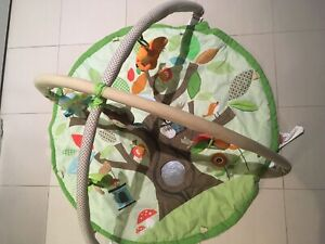 Skip hop treetop friends baby activity center play gym