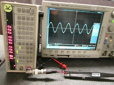 Oscilloscope Ac Current Probe Tested Tektronix P6016 50 Hz To 20mhz 15a Peak