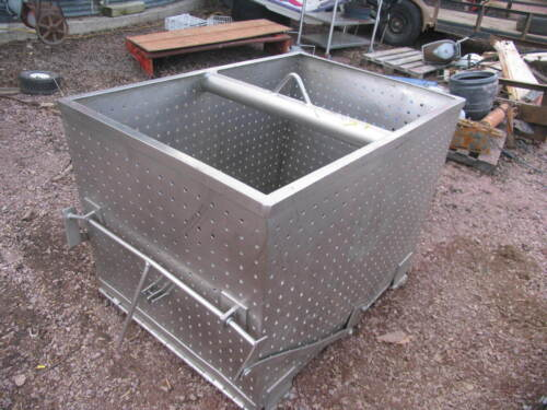 Stainless Steel Open Top Cage Crab Seafood Fish Basket Fishing
