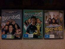 AS NEW Scrubs DVD's Seasons 1 - 3 Terrigal Gosford Area Preview