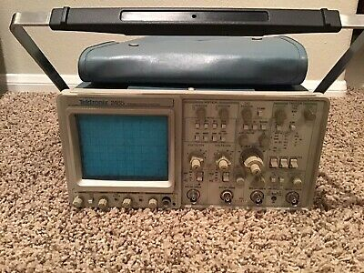 Tektronix 2465 300 Mhz Oscilloscope Calibrated New Crt