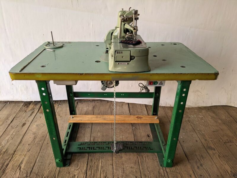 Reece Model S2-BH Buttonhole Sewing Machine + Table & 110/220 Motor
