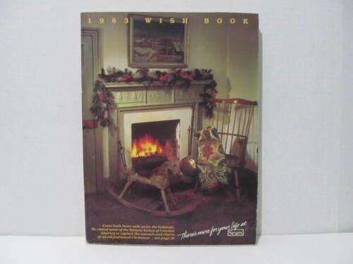 1983 Sears Christmas Wish Book Catalog