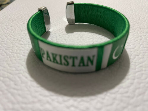 Pakistani Beautiful silicone Bracelet Wrist Bands 14 August Independence day