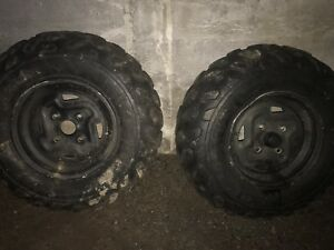 Duro tires and Rims for a Kawasaki