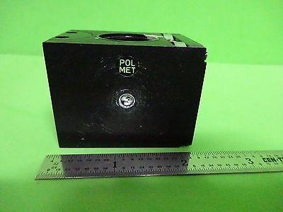 Microscope Part Polyvar Reichert Leica Polarizer Cube Pol Nice Optics Bnw1-51