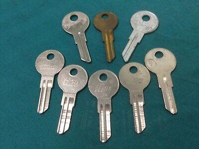 Slaymaker By Ilco Curtis Taylor Sl1 Key Blanks Set Of 8 - Locksmith