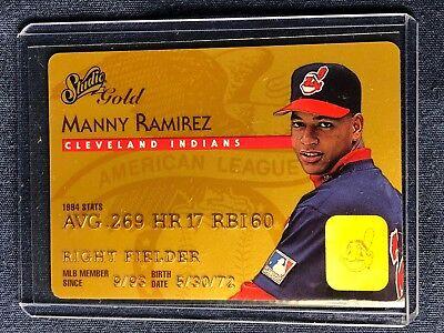 1995 Donruss Manny Ramirez Studio Gold Series #32  NM-MT - CLEVELAND -