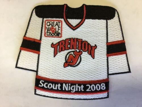 George Washington Council 2008 Trenton Devils Hockey Scout Night patch