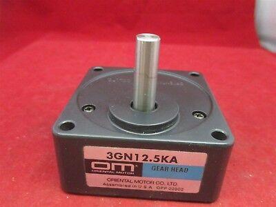 Oriental Motor Gearhead 3gn12.5ka