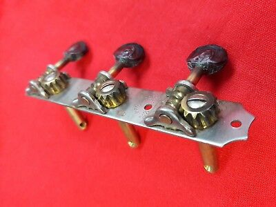Seldom.. possible Kluson guitar tuners on a strip