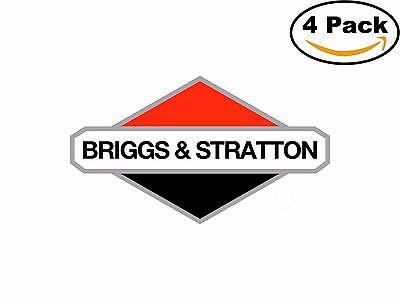 Briggs Stratton Engine Motors Generators Decal Diecut Sticker 4 Stickers