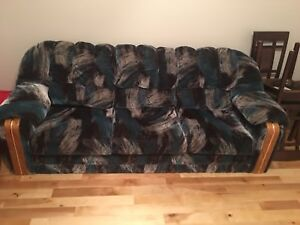 Retro couch and love seat