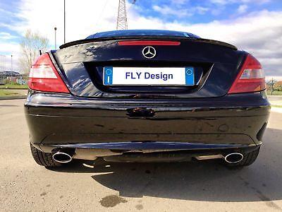 Mercedes SLK 2004 - 2011 Abrisskante Heckspoilerlippe Spoiler Diffusor Hecklippe