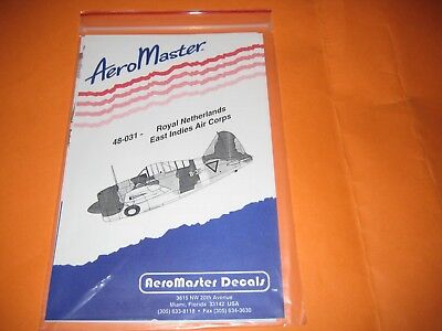 AEROMASTER DECALS DUTCH INDIES 1/48 -AMD48031