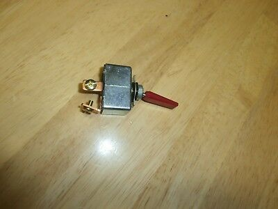 50 Amp Philmore 30-12242 12 Volt Dc High Current Toggle Switch Wred Handle