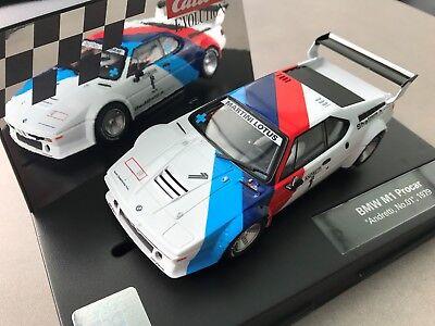 "Carrera Evolution 20027560 27560 BMW M1 Procar ""Andretti, No. 01"", 1979 NEU OVP"