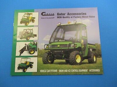 Original Curtis Sale Brochure John Deere Gator Accessories OEM Quality NOS M2954 John Deere Gator Accessories