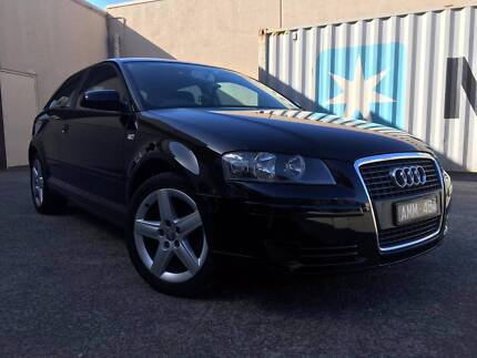 2006 Audi A3 Attraction Manual, Low KMS, WIth RWC & Rego