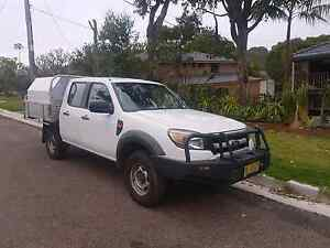 Ford ranger 4x4 dual cab Bateau Bay Wyong Area Preview