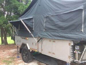 Camper trailer for holiday hire Hawthorne Brisbane South East Preview