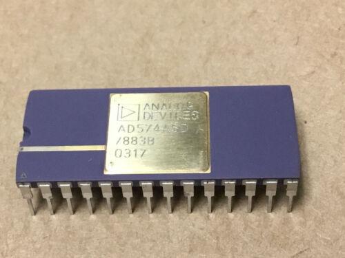 (1 PC) ANALOG DEVICE AD574ASD/883B  Analog to Digital Converters  OLD  GOLD