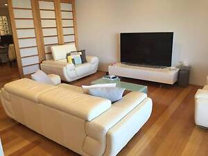 Demir Leather premium sofas - 3 seater + 2 large Single Seaters Crows Nest North Sydney Area Preview