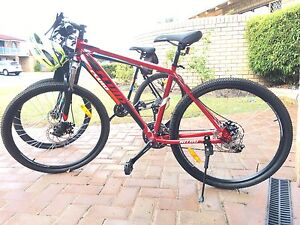 Mountain Bikes x 2 helmets and bike carrier Woodvale Joondalup Area Preview