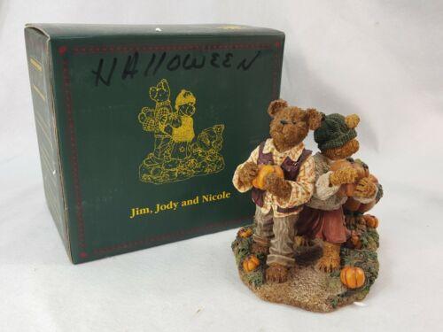 Boyds Bears #228438 Jim, Jody, Nicole... Biggest Ambitions. RETIRED PCEQ9