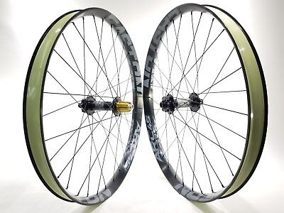 Easton / Race Face Arc 45 27.5 in. rims Hope Pro 2 Fatsno hubs Bicycle Wheels Easton Bicycle Wheels