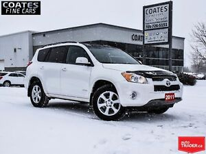2011 Toyota RAV4 Limited CLEAN CARFAX NEW BRAKES AND TIRES ALL