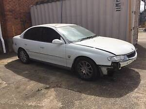2000 Holden SUPERCHARGED Calais Sedan DAMAGED FRONT THEFT RECOV Belmore Canterbury Area Preview