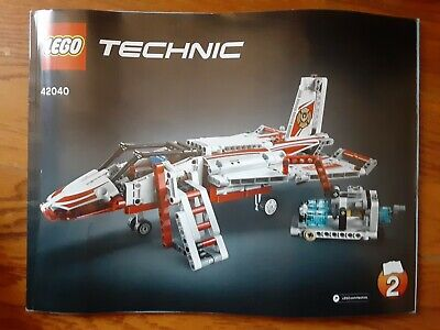 Lego 42040 Technic -Fire Department Planes Instruction Manual Book #2 only
