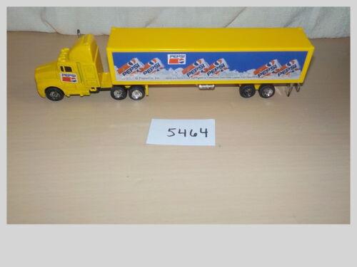 Golden Wheel Pepsi Super Hauler Semi Tractor Trailer Yellow Diecast #02279(A)