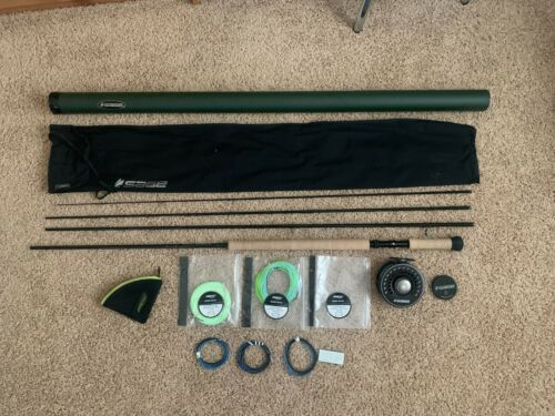 Sage X 7140-4 Spey Rod and Reel