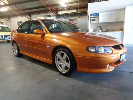 ORIGINAL EXAMPLE   MAN SS  2001 Holden Commodore Sedan Bentley Canning Area Preview