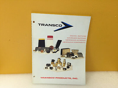 Transco Coaxial Switches Waveguide Switches Microwave Component Catalog