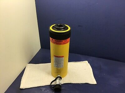 Enerpac Rch-206 Nice Hydraulic Cylinder 20 Tons 6-764in. Stroke Usa Made