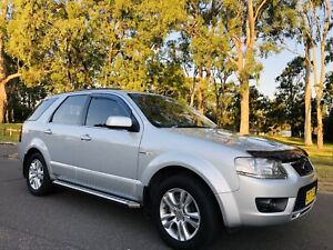 2010 Ford Territory SY MKII  Wagon AWD 7seater 6spd Automatic Moorebank Liverpool Area Preview