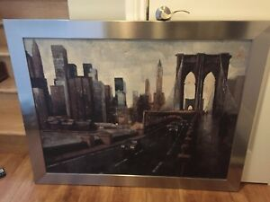 Painting of Brooklyn Bridge