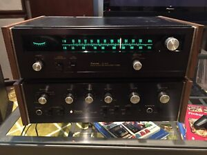 Sansui AU-505 and TU-505 amplifier/tuner combo