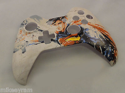 Superman Hero Hydro Dipped  Front Shell For Xbox One Controller   New
