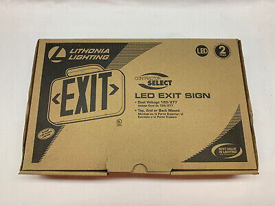 Lithonia Exit Sign
